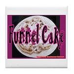 Funnel Cake Tile Coaster
