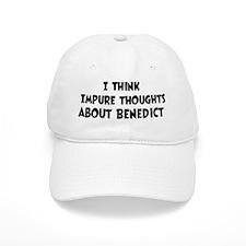 Benedict (impure thoughts} Baseball Cap