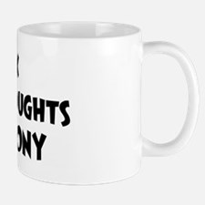 Ebony (impure thoughts} Mug