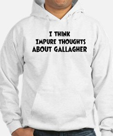 Gallagher (impure thoughts} Hoodie