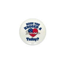 Have you hugged a Samoan today? Mini Button (10 pa