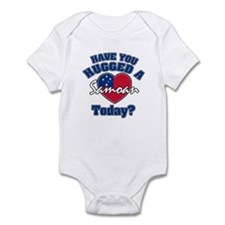 Have you hugged a Samoan today? Infant Bodysuit
