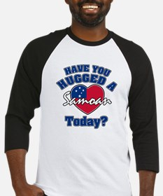 Have you hugged a Samoan today? Baseball Jersey