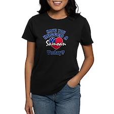 Have you hugged a Samoan today? Tee