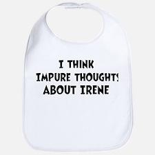 Irene (impure thoughts} Bib