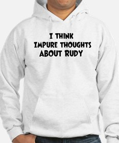 Rudy (impure thoughts} Hoodie