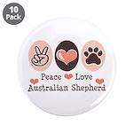 Peace Love Australian Shepherd 3.5