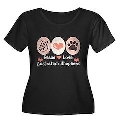Peace Love Australian Shepherd T