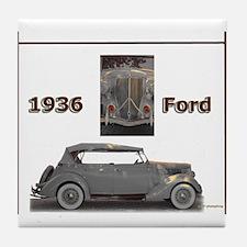 1936 Ford Elegance Tile Coaster