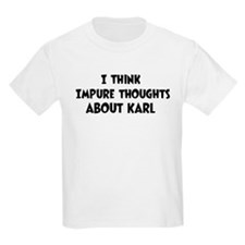Karl (impure thoughts} T-Shirt