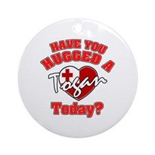 Have you hugged a Tongan today? Ornament (Round)