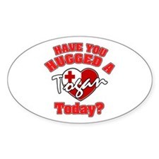 Have you hugged a Tongan today? Oval Decal