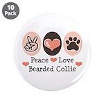 Peace Love Bearded Collie 3.5