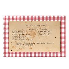 Sponge Cake Postcards (Package of 8)