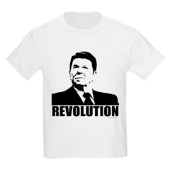 Reagan Revolution Kids Light T-Shirt