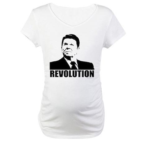Reagan Revolution Maternity T-Shirt