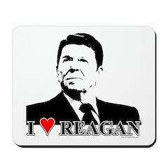 I Heart Reagan Mousepad