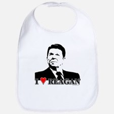 I Heart Reagan Bib