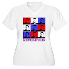 Reagan Revolution Pop Art T-Shirt