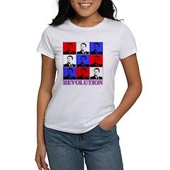 Reagan Revolution Pop Art Women's T-Shirt