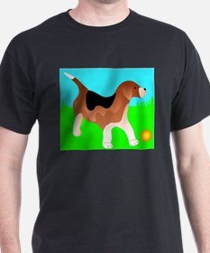 Beagle (Front only) T-Shirt