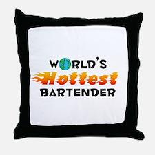 World's Hottest Barte.. (C) Throw Pillow