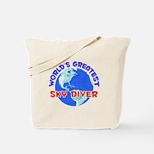 World's Greatest Sky D.. (E) Tote Bag