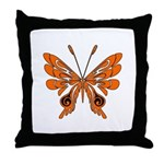 'Butterfly Tattoos Throw Pillow