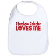 A Lunchbox Collector Loves Me Bib