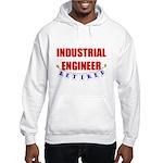 Retired Industrial Engineer Hooded Sweatshirt