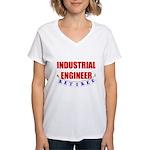 Retired Industrial Engineer Women's V-Neck T-Shirt