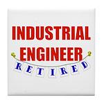 Retired Industrial Engineer Tile Coaster