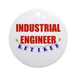 Retired Industrial Engineer Ornament (Round)