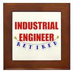 Retired Industrial Engineer Framed Tile