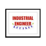 Retired Industrial Engineer Framed Panel Print