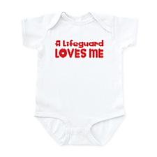A Lifeguard Loves Me Infant Bodysuit