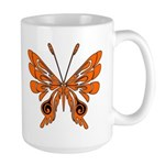 'Butterfly Tattoos Large Mug