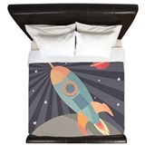 Outer space King Duvet Covers