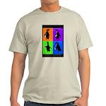 Penguin Dance Ash Grey T-Shirt