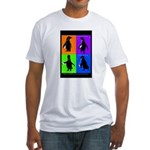 Penguin Dance Fitted T-Shirt