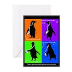 Penguin Dance Greeting Cards (Pk of 10)