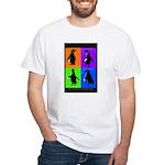 Penguin Dance White T-Shirt