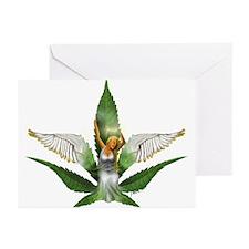 Sativa Goddess! Marijuana! Hemp! Greeting Cards (P