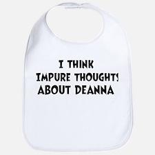 Deanna (ball and chain) Bib