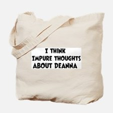 Deanna (ball and chain) Tote Bag