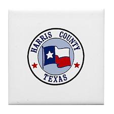 Harris County Tile Coaster