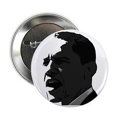 Obama Black & White Portrait Button