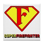 Super Firefighter Tile Coaster