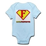 Super Firefighter Infant Creeper