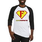 Super Firefighter Baseball Jersey
